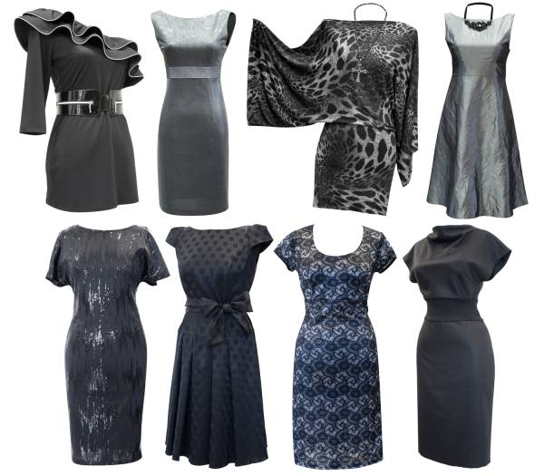 Moda  2014 - črno bela kombinacija